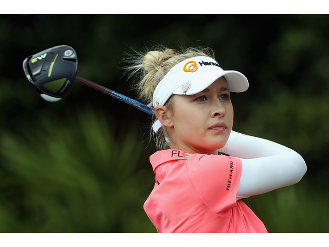 Nelly Korda Light Pink on Silver
